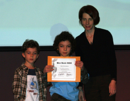 Receiving_their_award